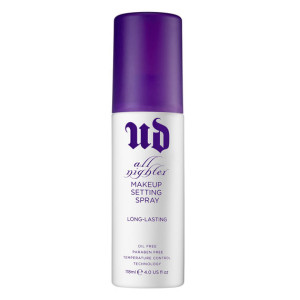 Urban Decay's very popular All Nighter Fixer Spray £22 help makeup last longer